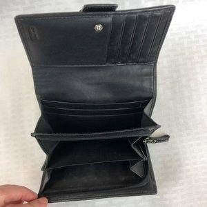 Coach Bags - Coach Signature Trifold Wallet
